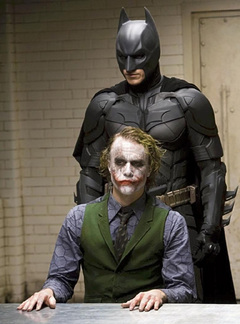 バットマンとジョーカー