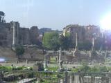 フォロ、ロマーノ遺跡