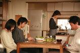 家族で食卓
