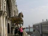 サンマルコ寺院の馬