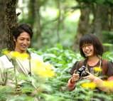 森の中の二人