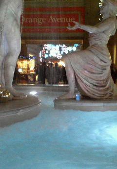 ビーナスフォート像の水