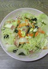 野菜塩焼きそば
