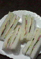 母 サンドイッチ