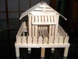 アイス棒の家