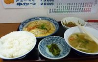 カツ煮定食01
