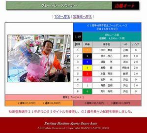 秋田敬吾選手21年ぶりのG?タイトルを獲得01