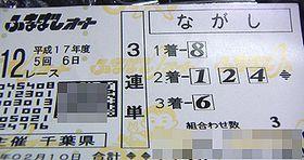 12R車券
