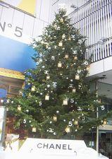 シャネルクリスマスツリー01