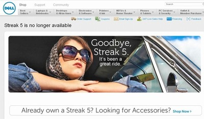 Streak 5 is no longer available