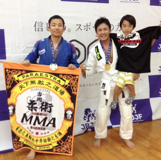 7/17 JBJJF 第1回西日本柔術新人選手権で2支部3名が入賞!