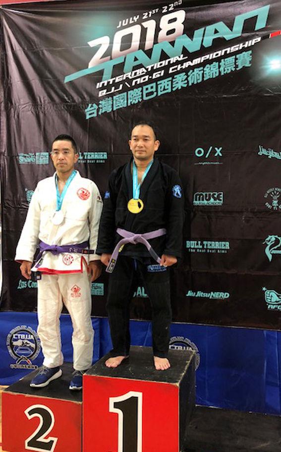 7/21-22 台湾国際BJJ/No-Giチャンピオンシップで千葉から2名が優勝!