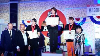 アームレスリング全日本2014