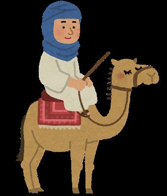 sabaku_tami_rakuda_bedouin