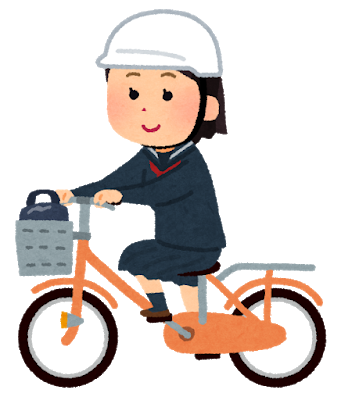 school_bicycle_helmet_girl