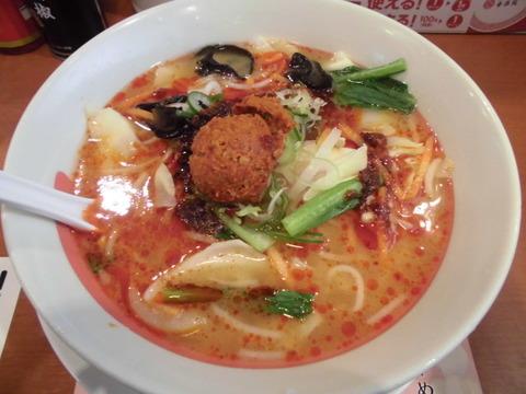 02野菜担担麺スパイシー2