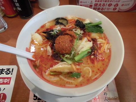 01野菜担担麺スパイシー1