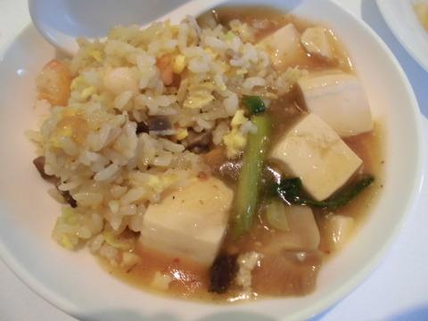08チャーハン・麻婆豆腐