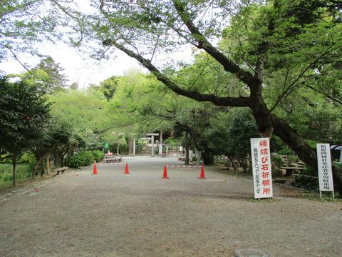 55葛原岡神社遠景