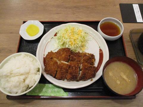 170チキンカツおろしポン酢定食