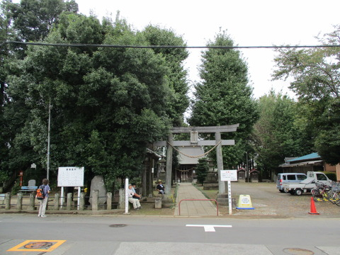 83篠津久伊豆神社1