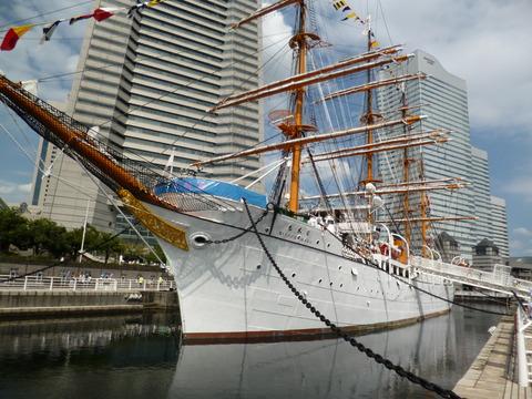 52帆船日本丸・横浜みなと博物館2