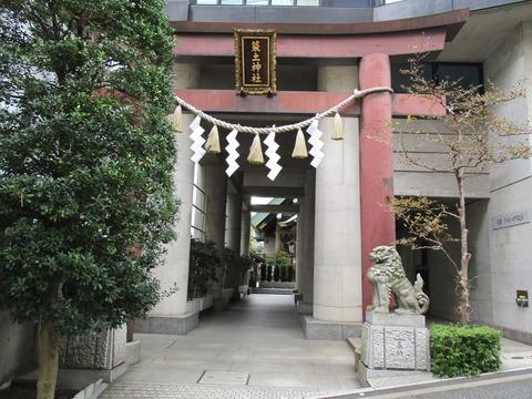 78築土神社2