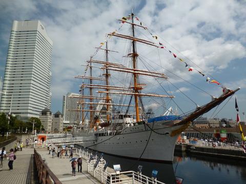 51帆船日本丸・横浜みなと博物館1
