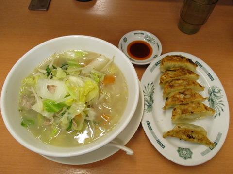 130野菜たっぷりタンメン餃子セット
