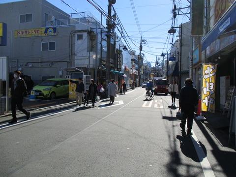 76再び旧綱島街道