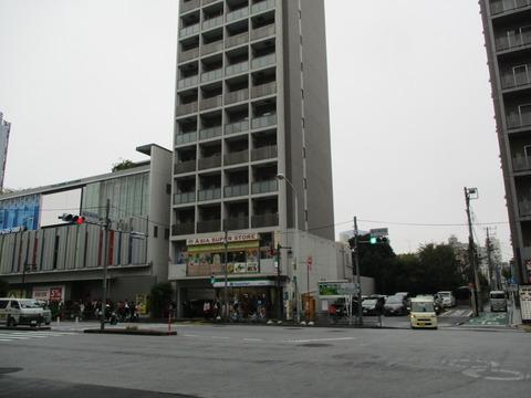 64鬼王神社前交差点・職安通り