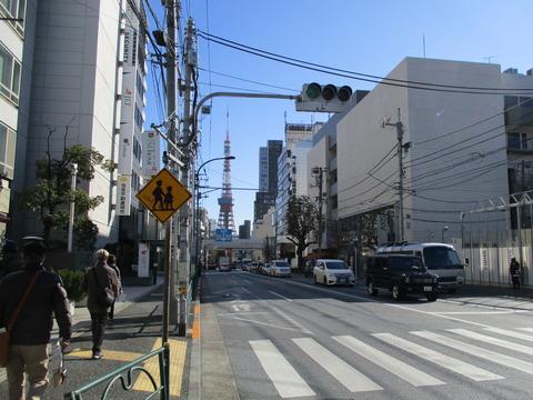 53遠くに東京タワー