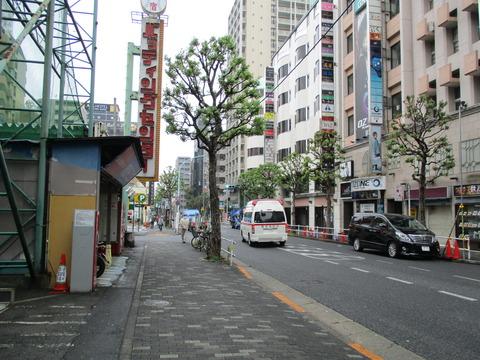 46新宿区役所通り