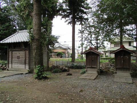 95正八幡宮・八幡宮・諏訪神社・雷電宮