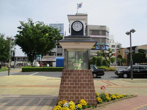 04ふっかちゃん時計台