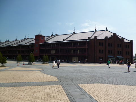 86横浜赤レンガ倉庫1