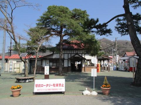 172再び長瀞駅