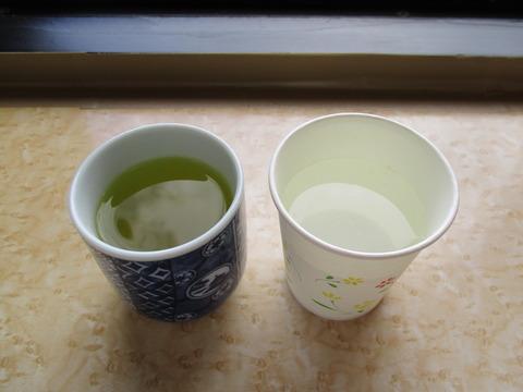 109お茶と水