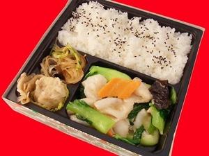 HP白身魚と青梗菜の炒め