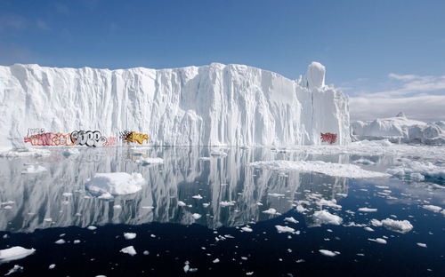 Graffiti-on-Polar-icebergs