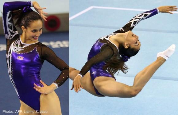 「性器の形見える」と批判された女子体操選手に擁護の声続出:ザイーガ