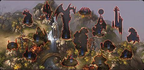ドラゴンマスター領土