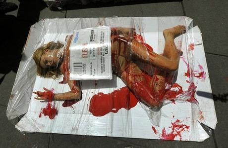 PETA-meat-protest