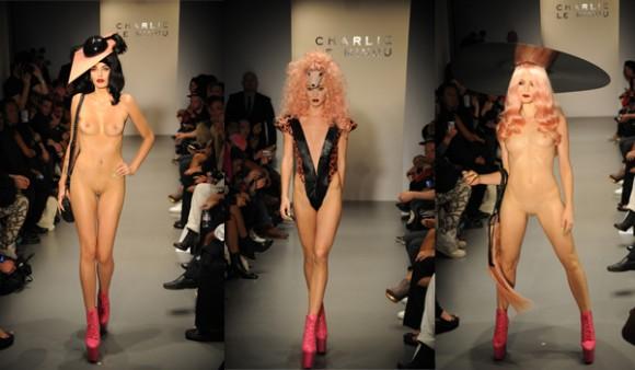 全裸のファッションショー「CHARLIE LE MINDU」:ザイーガ