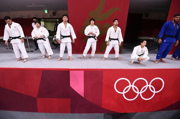 【東京五輪柔道】日本は史上初めて出場14選手全員メダル獲得 混合団体で銀メダル