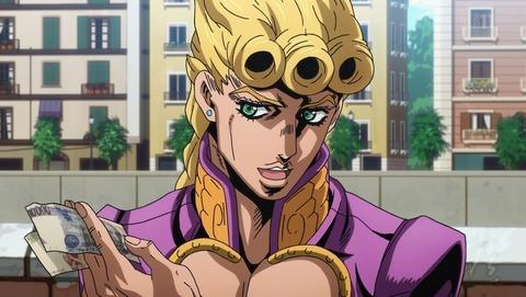 """【ジョジョ】ジョルノ「警察に賄賂渡します。窃盗します。強盗します」←言うほど""""黄金の精神""""が宿ってるか??"""
