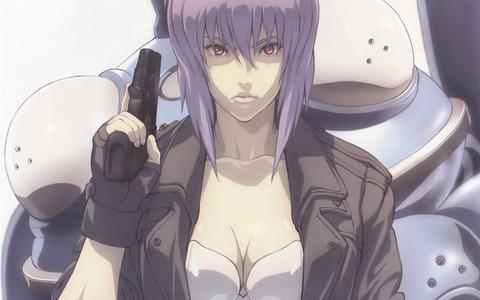 おまえら攻殻機動隊の少佐、草薙素子が可愛くないってマジで言ってる?