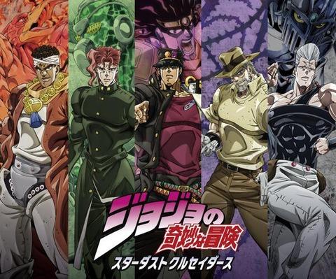 ジョジョ3部キャラクターズ