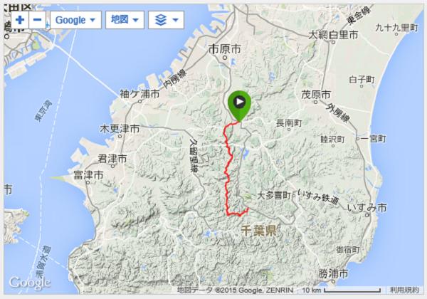 大福山ルート
