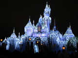 シンデレラ城のライトアップ2